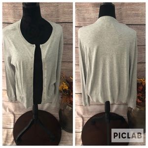 H&M Button Front Cardigan